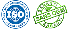 certification ISO 22000 et sans ogm, Carif